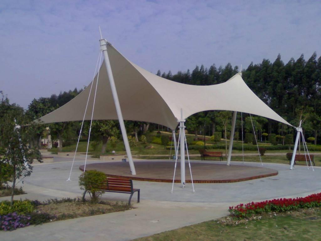 園林景觀膜結構