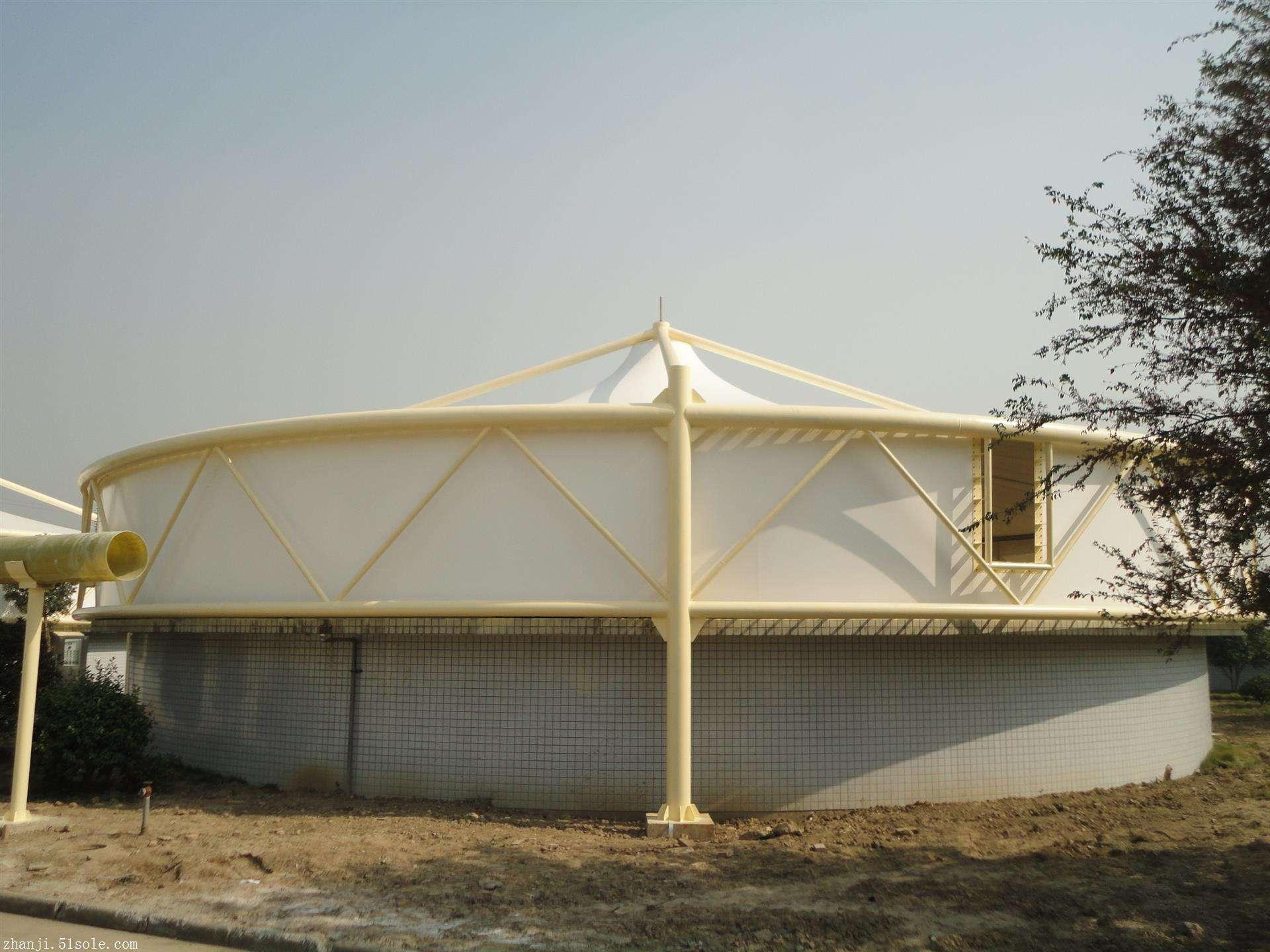 膜結構污水池罩