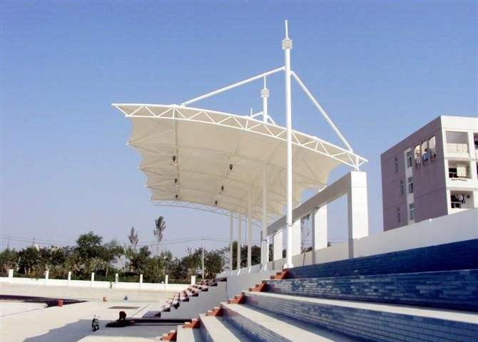 膜结构看台施工方案中做好这几点会使建筑更结实