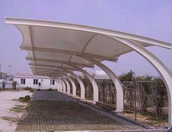 工厂膜结构车棚