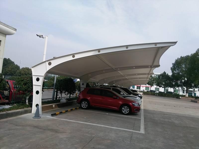 六安膜結構車棚