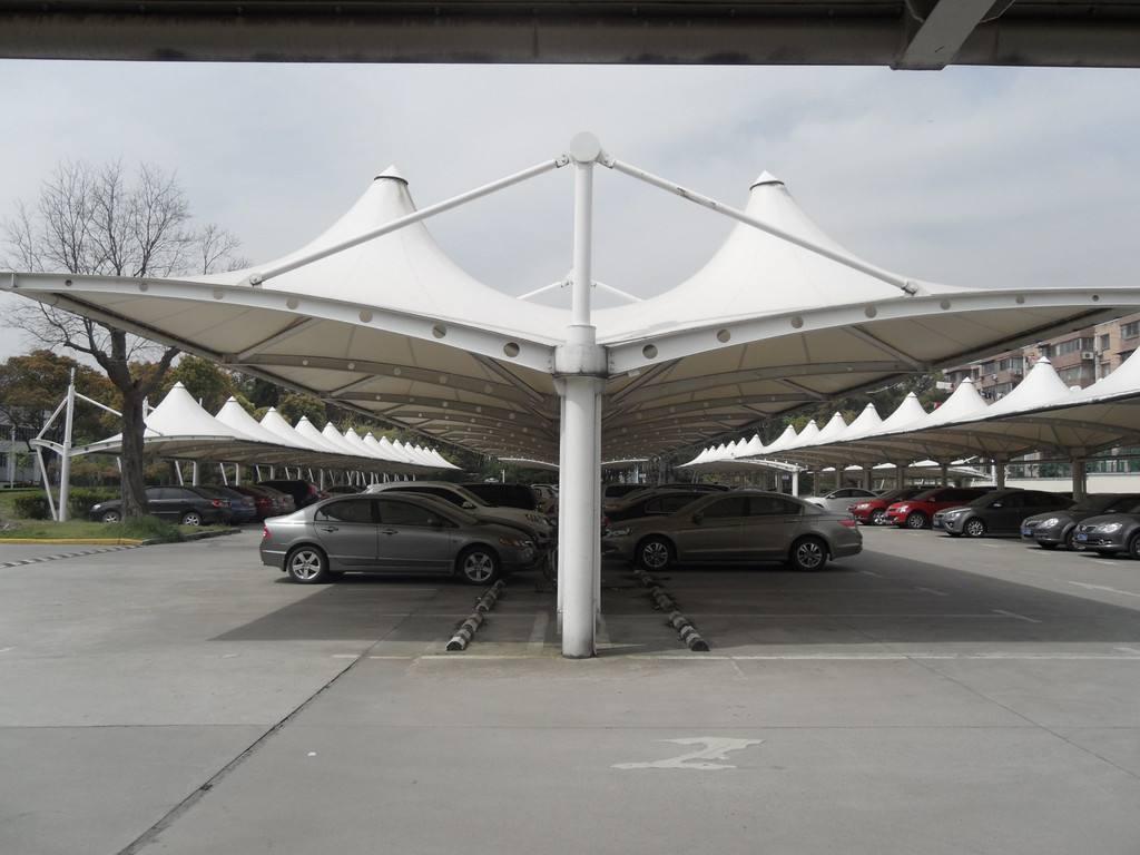 宣城膜結構車棚