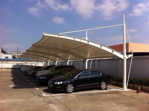 来宾膜结构停车棚