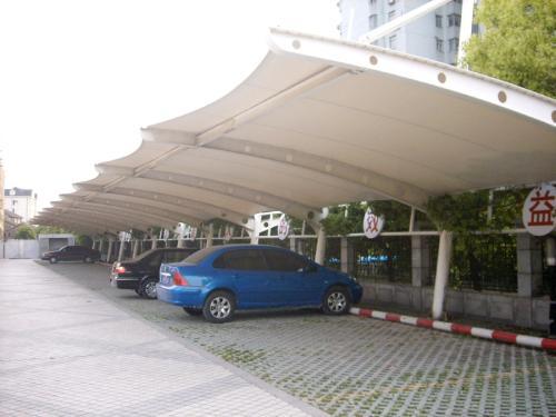 玉林膜结构汽车棚