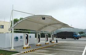 防城港充电桩膜结构
