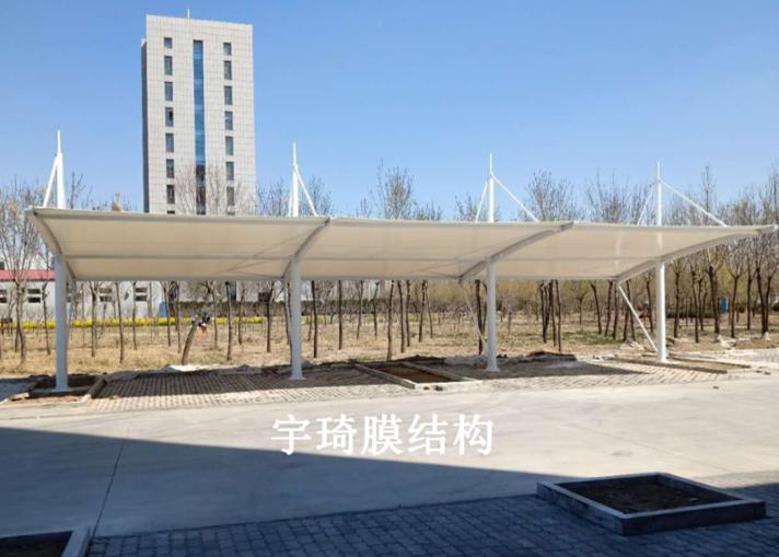 沧州海兴县税务局膜结构遮阳棚