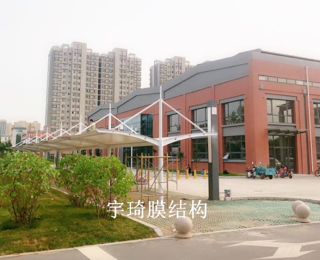淄博高清博物馆膜结构雨棚