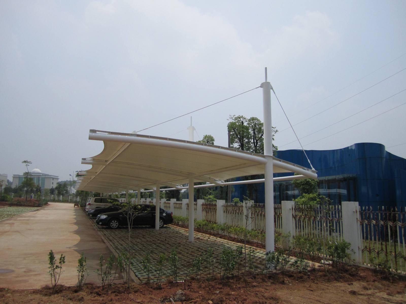 南阳膜结构停车棚