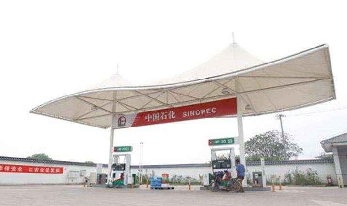 许昌加油站膜结构