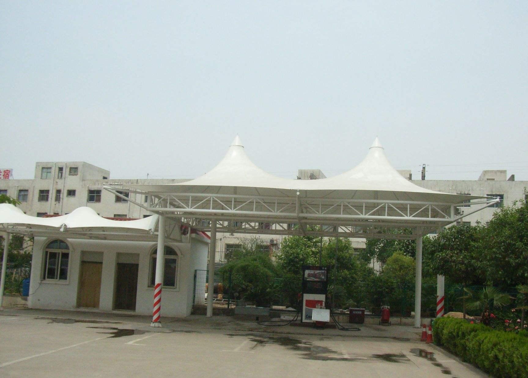 驻马店加油站膜结构