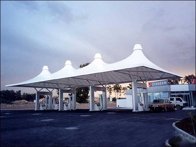 信阳加油站膜结构