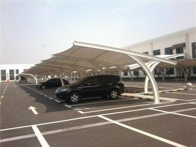来宾/贺州膜结构车棚不同的材料有不同的属性