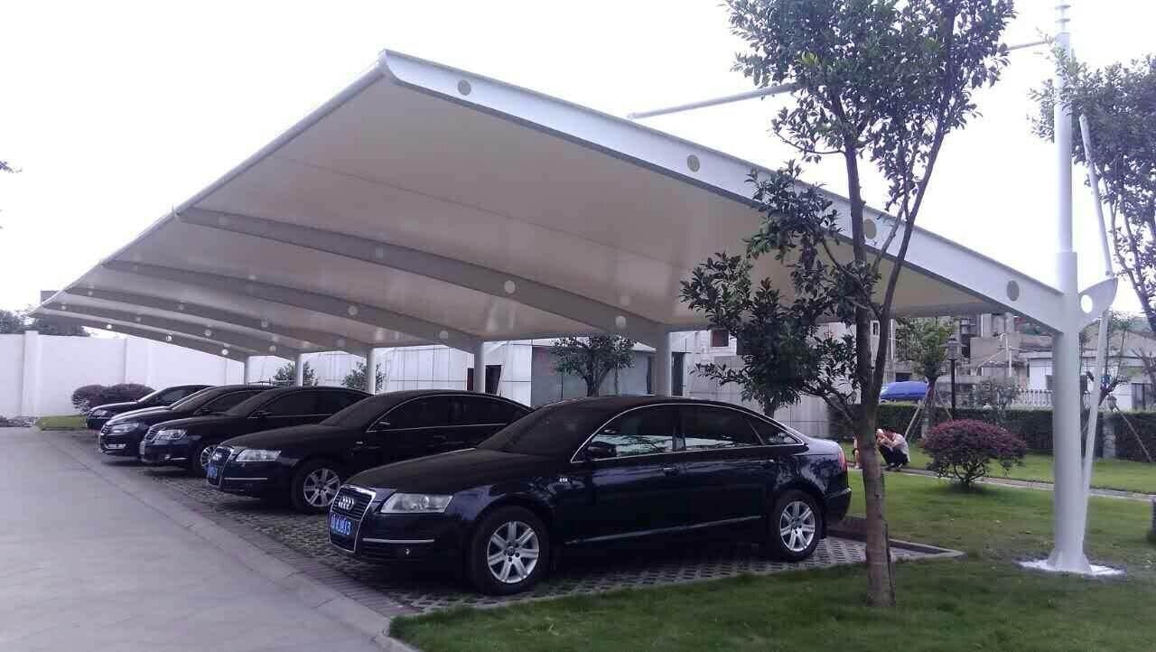 阳江膜结构停车棚
