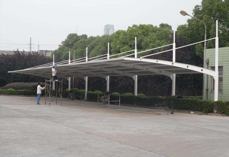 梅州膜结构停车棚