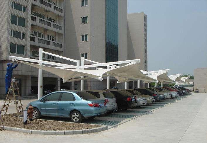 深圳膜结构停车棚