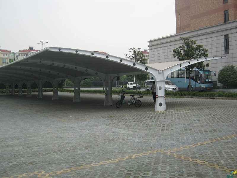 中山膜结构停车棚