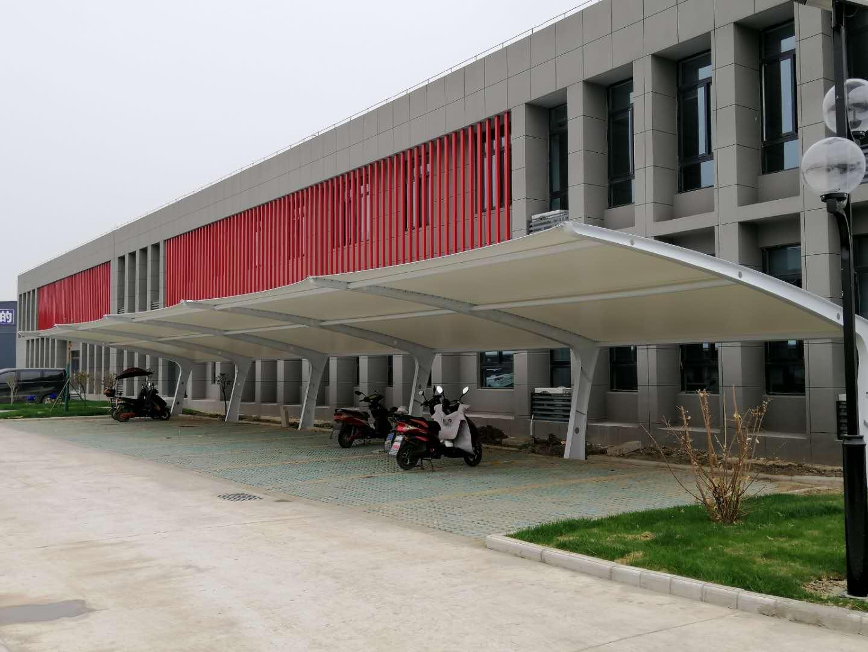 深圳7字型膜结构停车棚