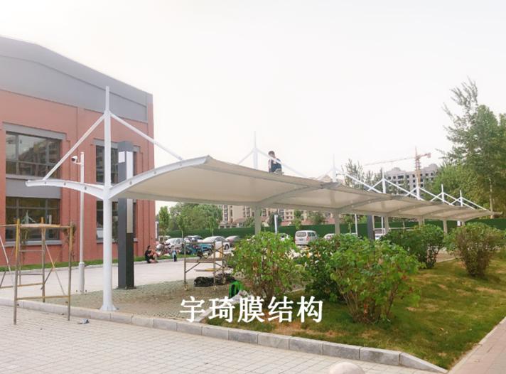 淄博高清博物馆膜结构停车棚