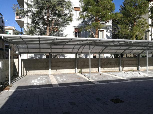 抚顺/本溪选择膜结构停车棚可以保护您的汽车