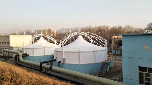 长治膜结构污水池