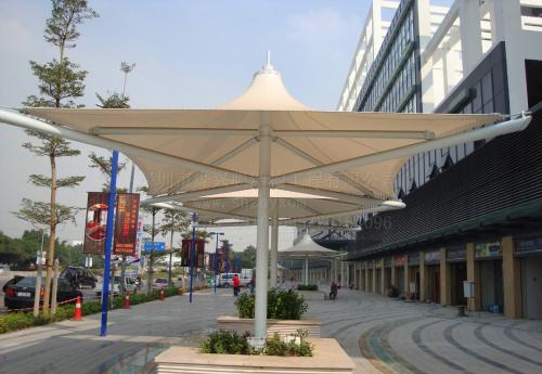 丹东/锦州膜结构停车棚选择的时候有什么误区
