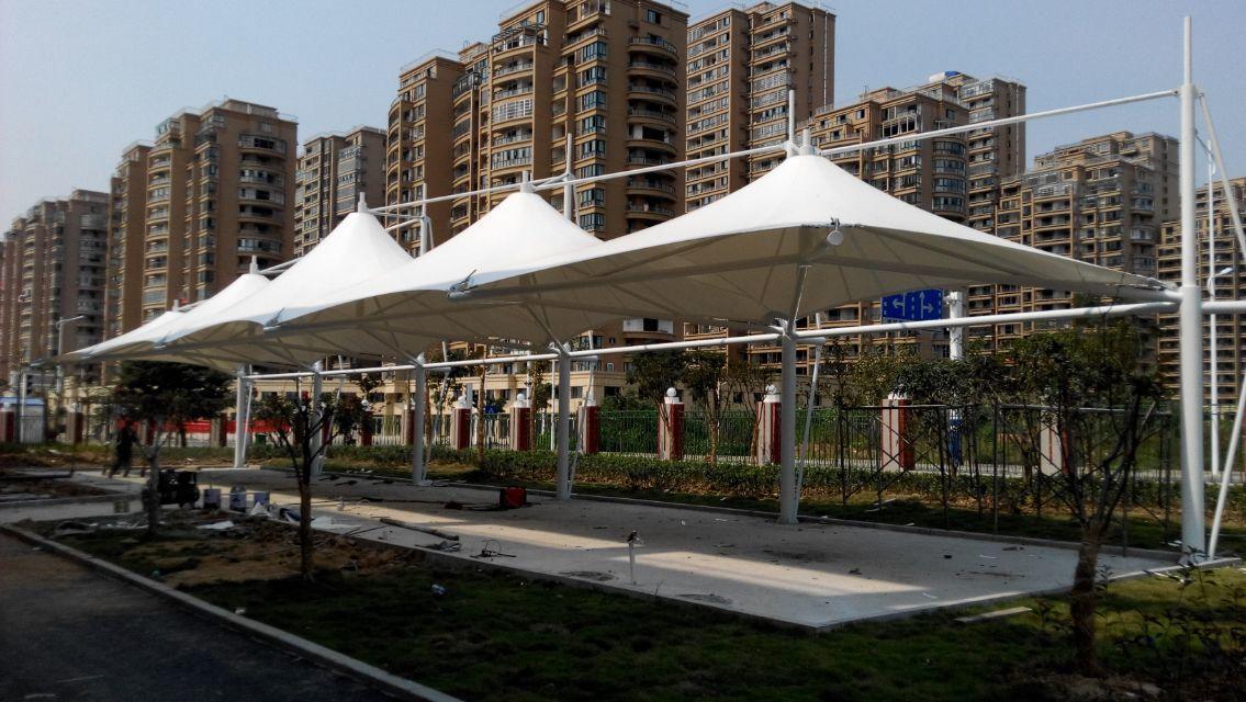 介绍膜结构雨棚的维护保养技术