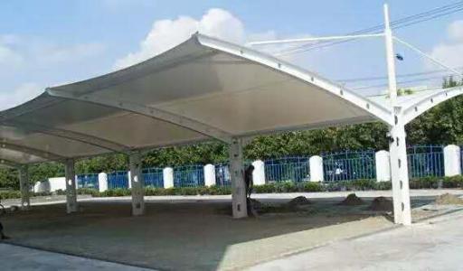 户外膜结构遮阳棚