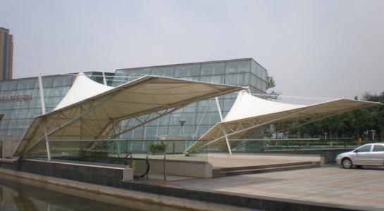 出口體育場看台膜結構