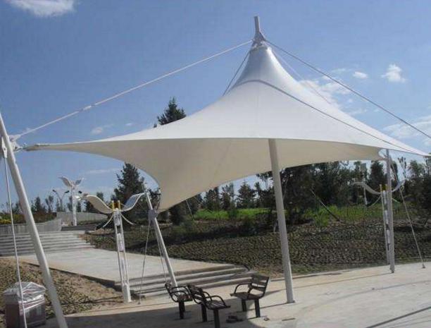 膜结构雨棚工程的搭建涉及的技术有哪些?