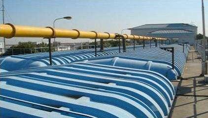 污水池加蓋膜結構廠