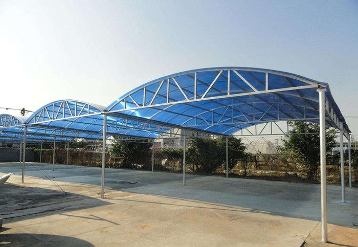 膜结构雨棚建造要遵守的规律有哪些?