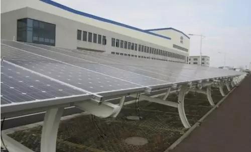 太陽能光伏板車棚
