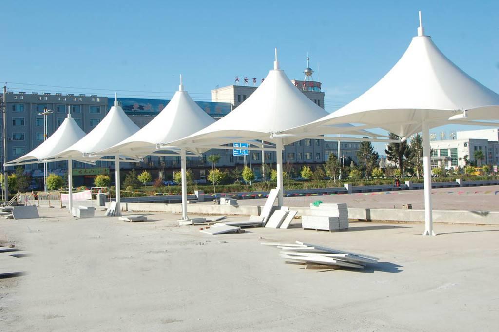 广场景观膜结构