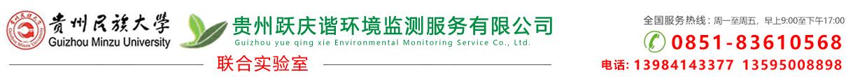 贵州跃庆谐环境监测服务有限公司_Logo