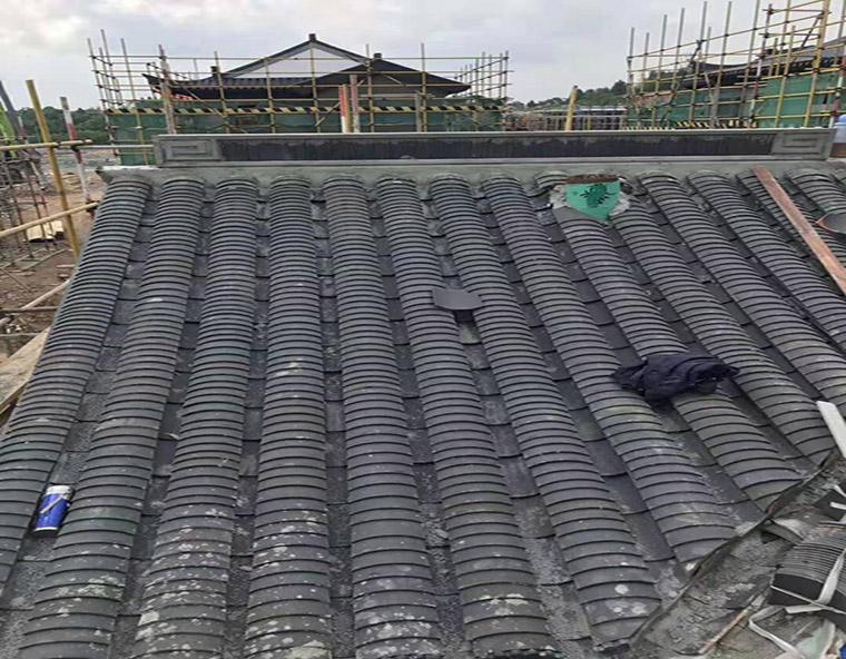 夹江艺然古建砖瓦厂生产的10片小青瓦发往贵州贵阳