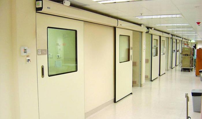 医院平开门