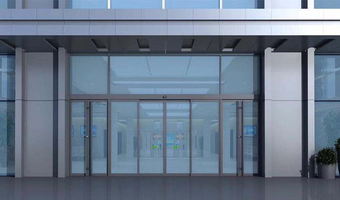玻璃自动门安装