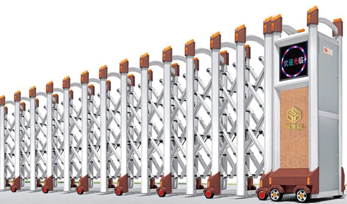 云南不锈钢电动伸缩门生锈的处理办法?