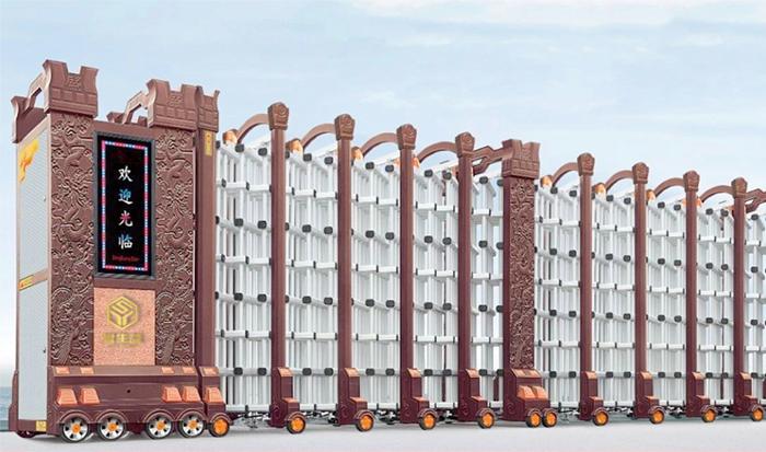 自动伸缩门常规尺寸规格  自动伸缩门尺寸如何计算呢