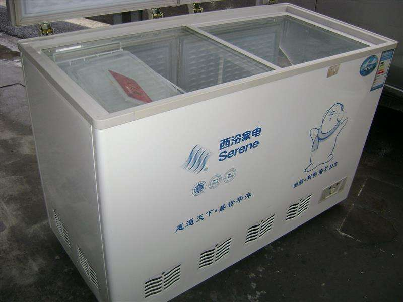 回收旧冰柜