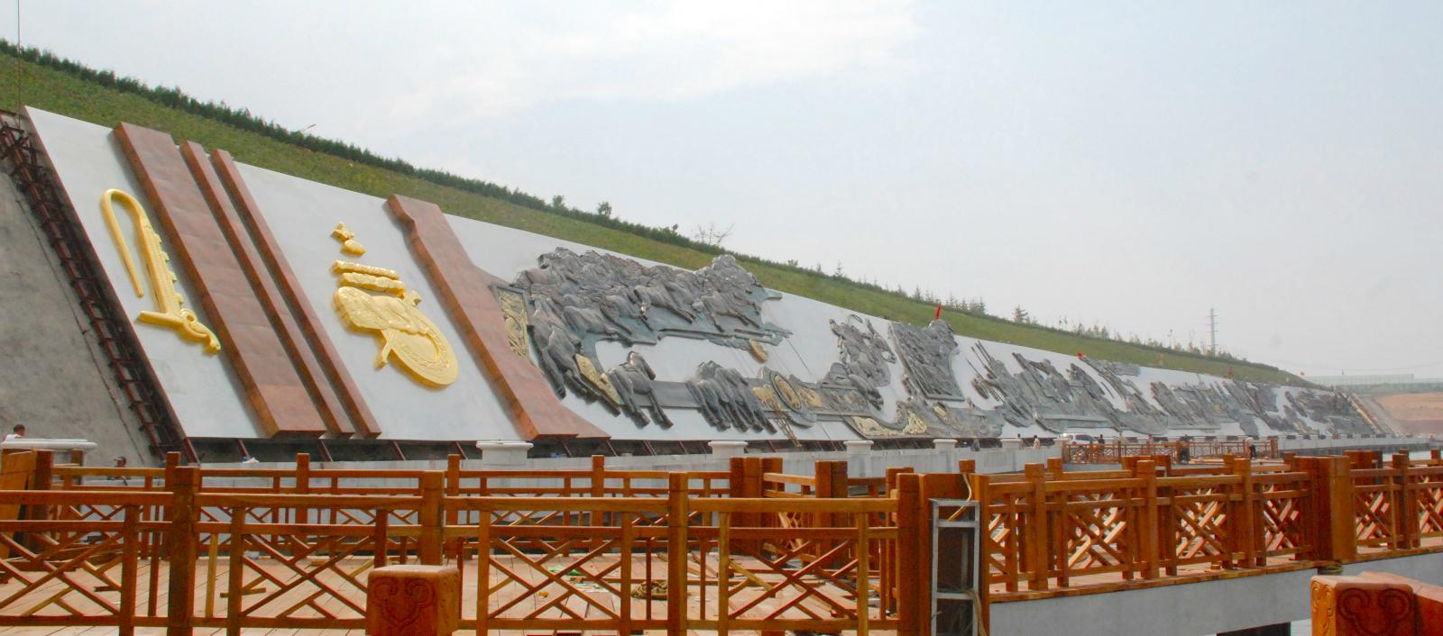 西安浮雕壁画青铜时代