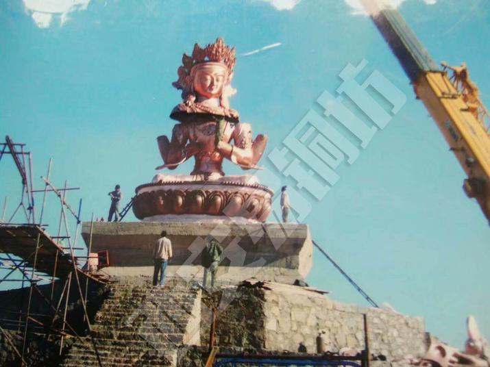西安景观雕塑施工环境4