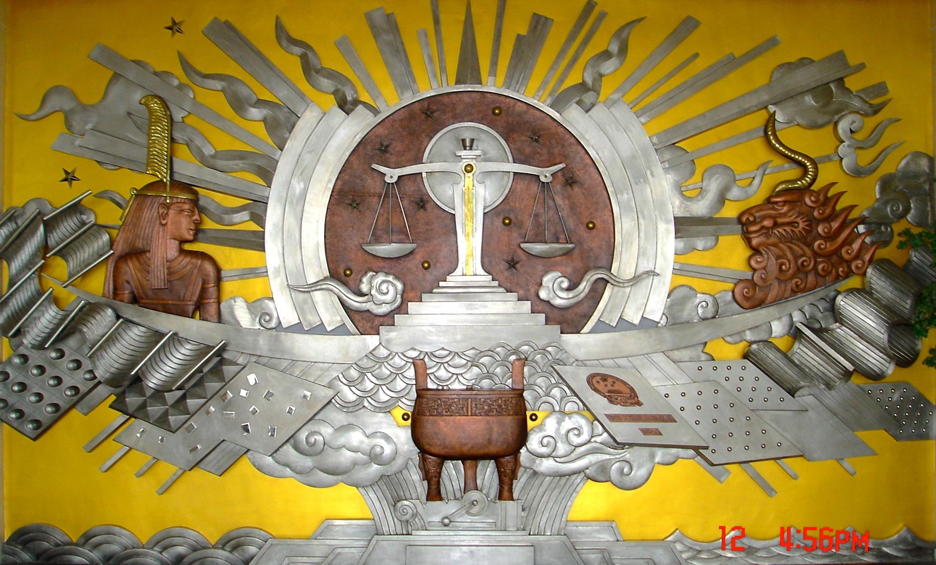 北京法院浮雕加工