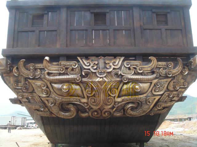 木屋景观雕塑