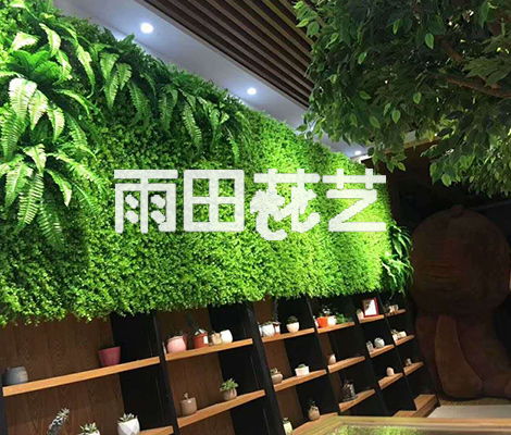 贵州仿真植物背景墙