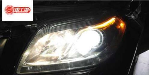 奔驰海拉5套装车灯改装