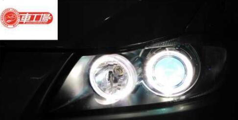 宝马320海拉透镜天使眼