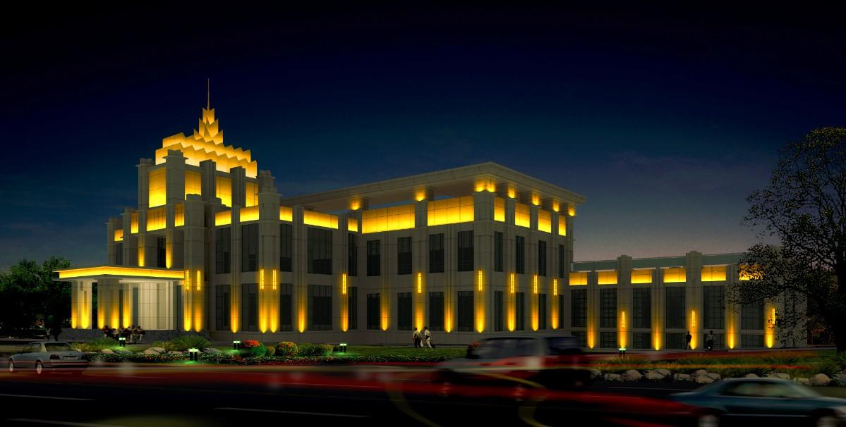 办公楼照明设计