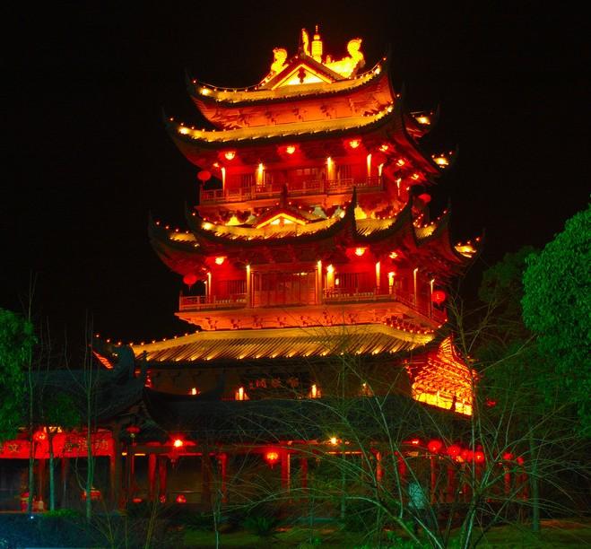 古建筑照明设计
