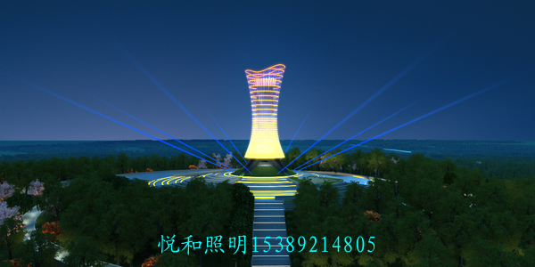 公园夜景灯光设计